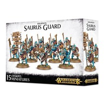 Seraphon: Saurus Guard