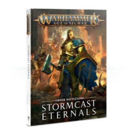Games Workshop Age of Sigmar 2nd Edition Rulebook Order Battletome: Stormcast Eternals (HC)