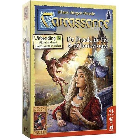 999-Games Carcassonne: De Draak, de Fee en de Jonkvrouw (nieuw)