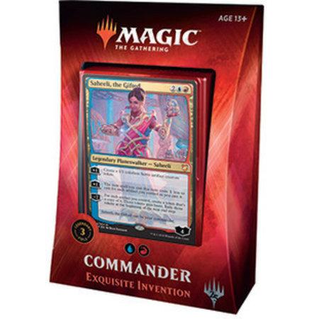 Wizards of the Coast Magic: the Gathering Commander 2018 Exquisite Invention Deck (UR, Saheeli)