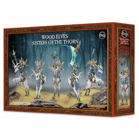 Games Workshop Age of Sigmar Aelves Wanderers: Sisters of the Thorn/Wild Riders