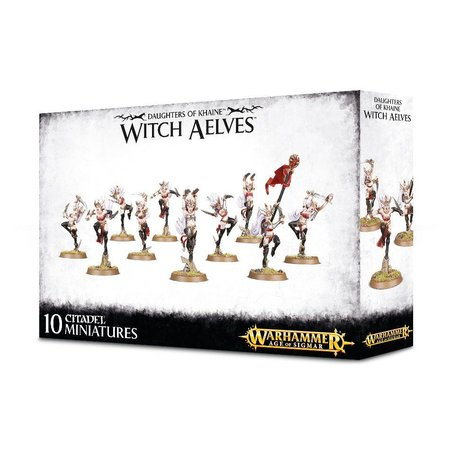 Games Workshop Age of Sigmar Aelves Daughters of Khaine: Sisters of Slaughter/Witch Aelves