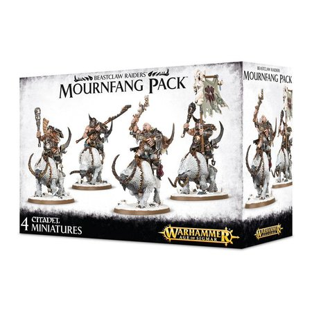 Games Workshop Age of Sigmar Ogors Beastclaw Raiders: Mournfang Pack