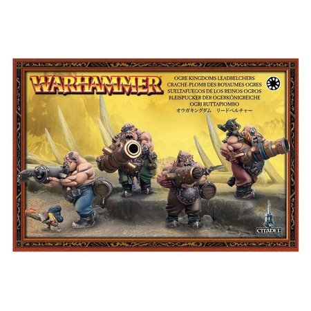 Games Workshop Age of Sigmar Ogors Gutbusters: Leadbelchers
