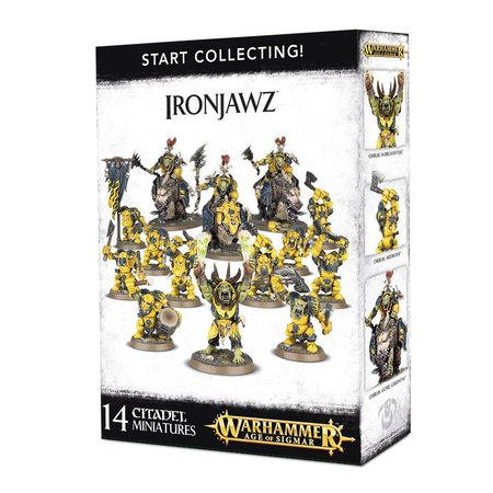 Games Workshop Age of Sigmar Orruks Ironjawz Start Collecting Set