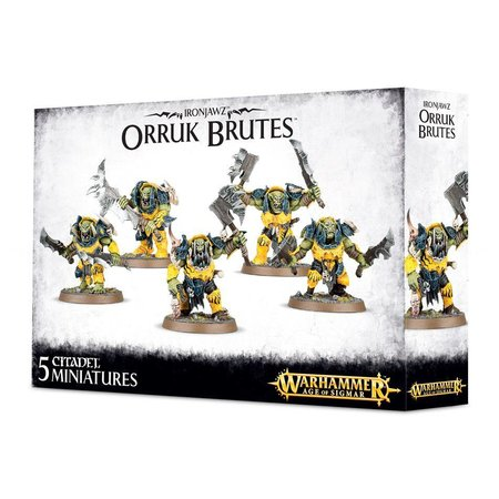 Games Workshop Age of Sigmar Orruks Ironjawz: Orruk Brutes