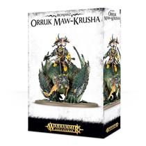 Ironjawz: Gordrakk, Fist of Gork/Megaboss on Maw-Krusha