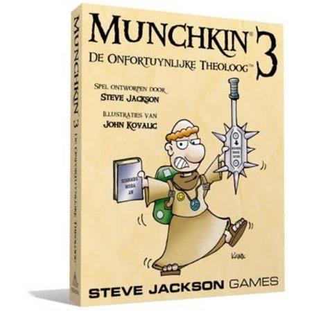 Steve Jackson Games Munchkin 3: De Onfortuynlijke Theoloog (NL)
