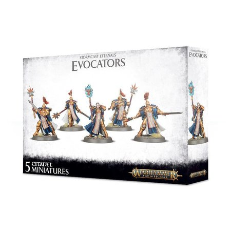 Games Workshop Age of Sigmar Celestials Stormcast Eternals: Evocators