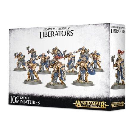 Games Workshop Age of Sigmar Celestials Stormcast Eternals: Liberators