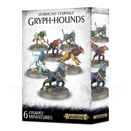 Games Workshop Age of Sigmar Celestials Stormcast Eternals: Gryph-Hounds