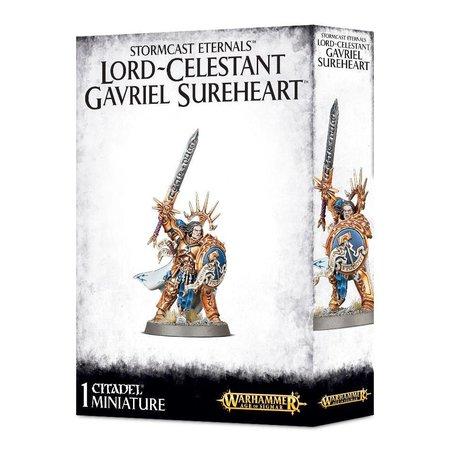 Games Workshop Age of Sigmar Celestials Stormcast Eternals: Lord-Celestant Gavriel Sureheart