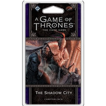 Fantasy Flight Game of Thrones 2nd LCG: The Shadow City Chapter Pack