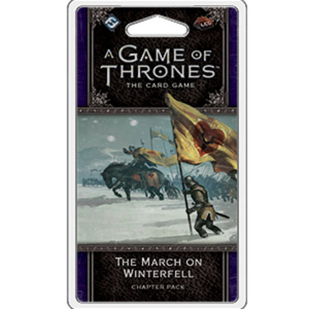 Fantasy Flight Game of Thrones 2nd LCG: The March on Winterfell Chapter Pack