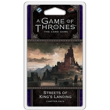 Fantasy Flight Game of Thrones 2nd LCG: Streets of King's Landing Chapter Pack
