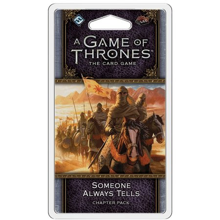 Fantasy Flight Game of Thrones 2nd LCG: Someone Always Tells Chapter Pack