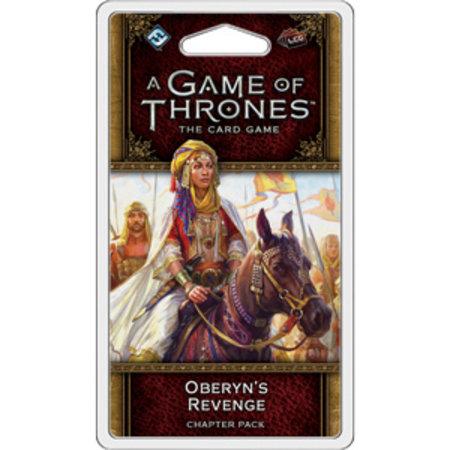 Fantasy Flight Game of Thrones 2nd LCG: Oberyn's Revenge Chapter Pack