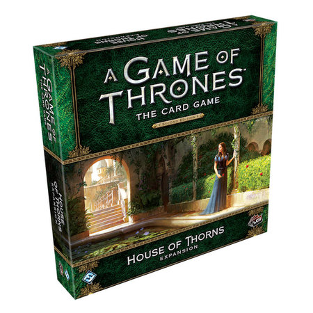 Fantasy Flight Game of Thrones 2nd LCG: House of Thorns Deluxe Expansion