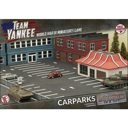 GaleForce Nine Team Yankee: Car Parks