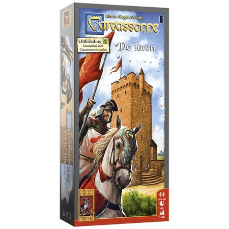 999-Games Carcassonne De Toren Nieuw