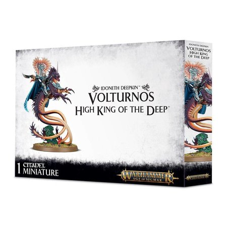 Games Workshop Age of Sigmar Aelves Idoneth Deepkin: Akhelian King/Volturnos, High King of the Deep