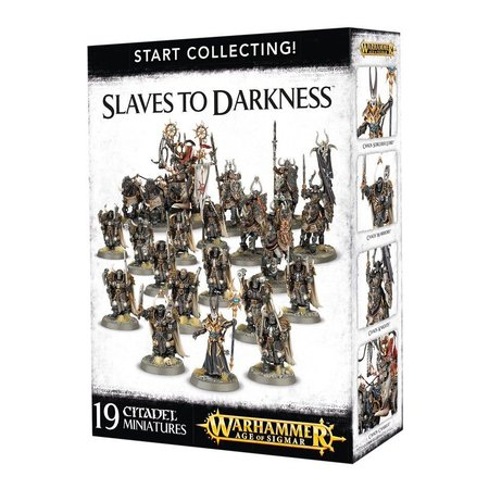Games Workshop Age of Sigmar Slaves to Darkness Start Collecting Set