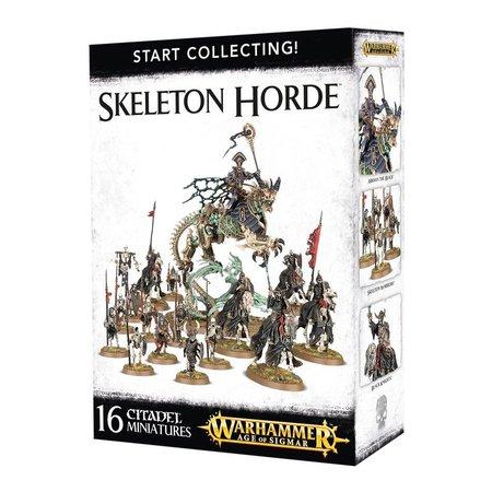 Games Workshop Age of Sigmar Skeletons Deathrattle Start Collecting Set: Skeleton Horde