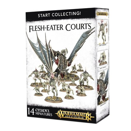 Games Workshop Age of Sigmar Flesh-Eater Courts Start Collecting Set