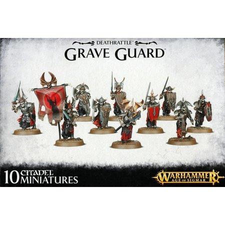 Games Workshop Age of Sigmar Skeletons Deathrattle: Grave Guard