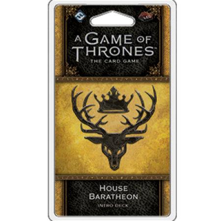 Fantasy Flight Game of Thrones 2nd LCG: House Baratheon Intro Deck