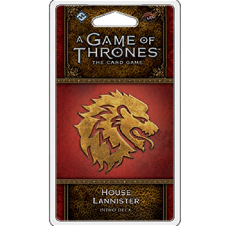 Fantasy Flight Game of Thrones 2nd LCG: House Lannister Intro Deck