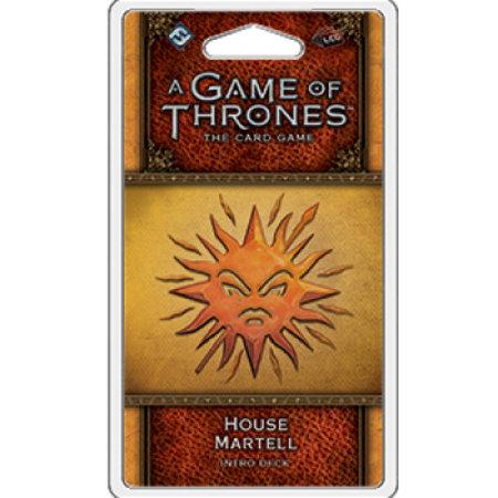 Fantasy Flight Game of Thrones 2nd LCG: House Martell Intro Deck