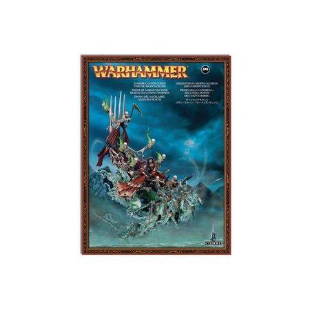Games Workshop Age of Sigmar Deathmages/Soulblight: Bloodseeker Palanquin/Coven Throne/Mortis Engine