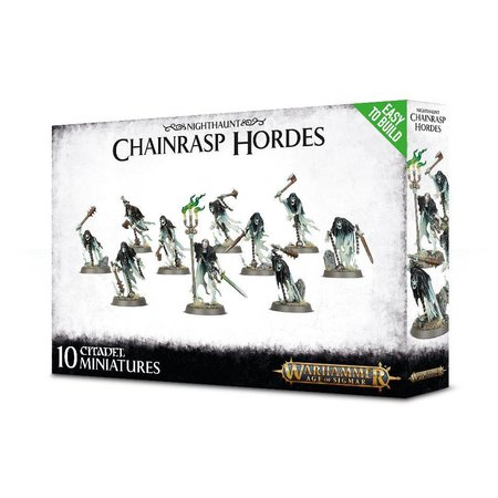 Games Workshop Age of Sigmar Nighthaunt: Chainrasp Hordes (Easy to Build)