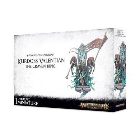 Games Workshop Age of Sigmar Nighthaunt: Kurdoss Valentian, the Craven King