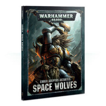 Warhammer 40,000 8th Edition Rulebook Imperium Codex: Adeptus Astartes Space Wolves (HC)