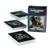 Warhammer 40,000 8th Edition Datacards Imperium: Adeptus Astartes Space Wolves
