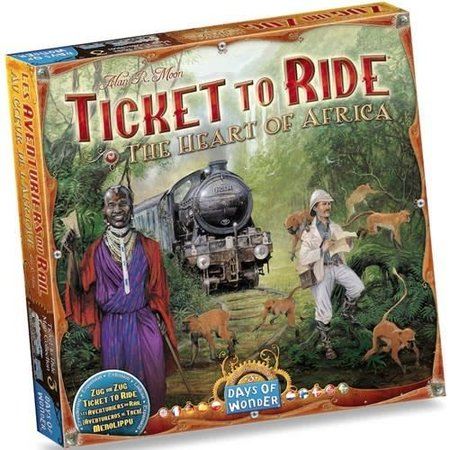 Days of Wonder Ticket to Ride - Africa (Map Collection 3)