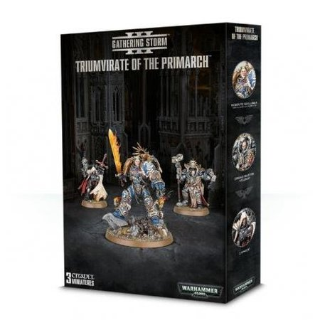 Games Workshop Warhammer 40,000 Gathering Storm Chapter 3: Imperium - Triumvirate of the Primarch (Limited Edition)