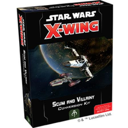 Fantasy Flight X-Wing 2.0 Scum and Villainy Conversion Kit**