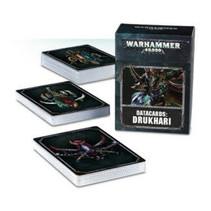 Warhammer 40,000 8th Edition Datacards Xenos: Aeldari Drukhari