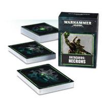 Warhammer 40,000 8th Edition Datacards Xenos: Necrons