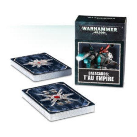 Games Workshop Warhammer 40,000 8th Edition Datacards Xenos: T'au Empire