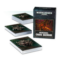 Warhammer 40,000 8th Edition Datacards Chaos: Chaos Daemons