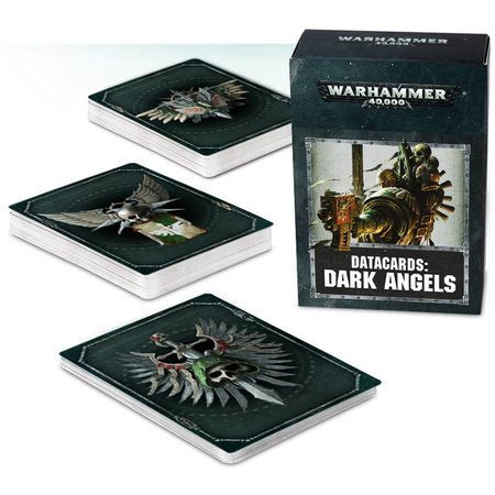 Games Workshop Warhammer 40,000 8th Edition Datacards Imperium: Adeptus Astartes Dark Angels