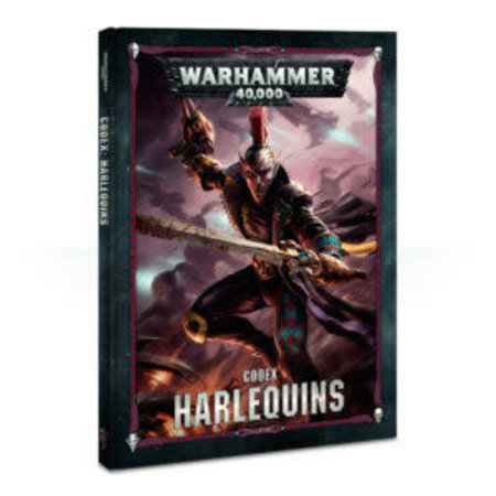 Games Workshop Warhammer 40,000 8th Edition Rulebook Xenos Codex: Aeldari Harlequins (HC)
