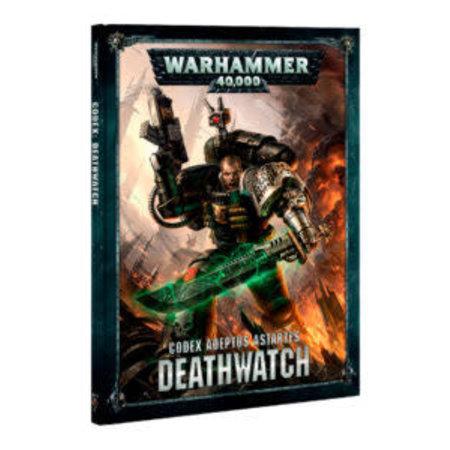 Games Workshop Warhammer 40,000 8th Edition Rulebook Imperium Codex: Adeptus Astartes Deathwatch (HC)