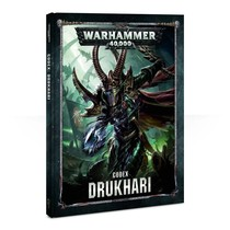 Warhammer 40,000 8th Edition Rulebook Xenos Codex: Aeldari Drukhari (HC)