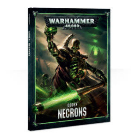 Games Workshop Warhammer 40,000 8th Edition Rulebook Xenos Codex: Necrons (HC)