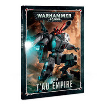 Warhammer 40,000 8th Edition Rulebook Xenos Codex: T'au Empire (HC)